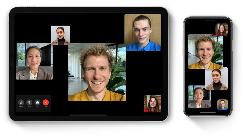 FaceTime - one of many secure alternatives to Zoom